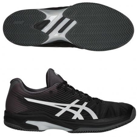 Asics Gel Solution Speed FF Clay Black 1041A004-001