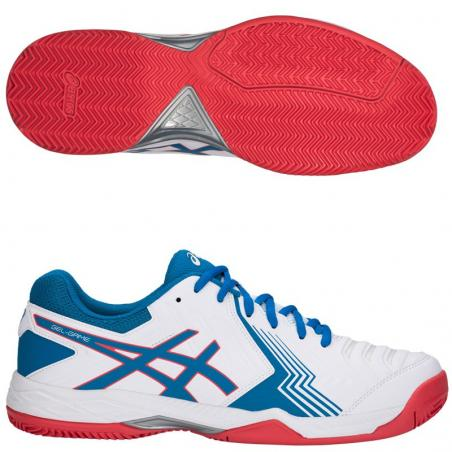 Asics Gel Game 6 Clay White E706Y-100