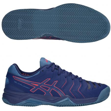 Asics Gel Challenger 11 Clay Blue Print E704Y-400