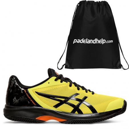 Asics Gel Court Speed Clay Sour Yuzu Black E801N-750