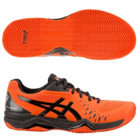 Asics Gel Challenger 12 Clay Cherry Tomato 1041A048-813