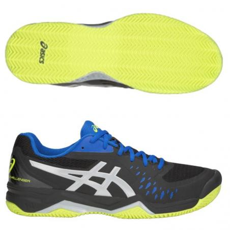 Asics Gel Challenger 12 Clay Black 1041A048-014