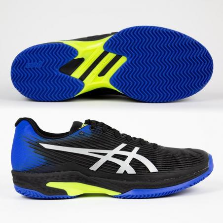 Asics Solution Speed Clay Black Blue 1041A004-011