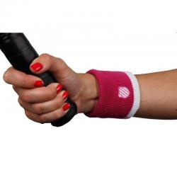 Kswiss Pink White Wristband...