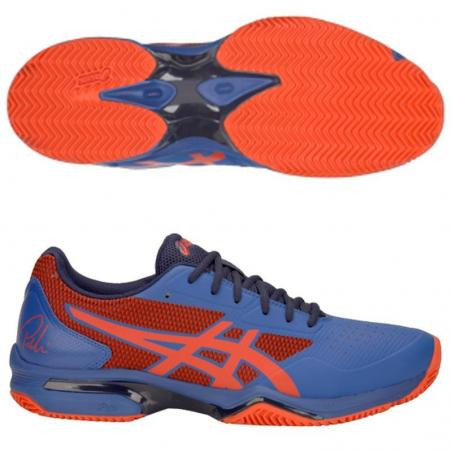 Asics Gel Lima Padel 2 Blue Fiery Red 1041A040-401
