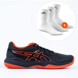 quality design 55ae7 fd78f Asics Gel Game 7 Clay Black Cherry Tomato 1041A046-010