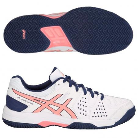 Asics Gel Padel Pro 3 SG Woman White E561Y-113