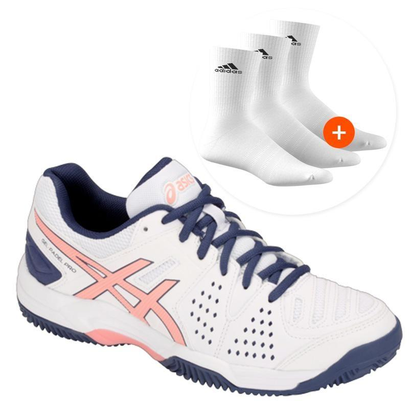 94a504b1 Asics Gel Padel Pro 3 SG Woman White E561Y-113 - Padel And Help