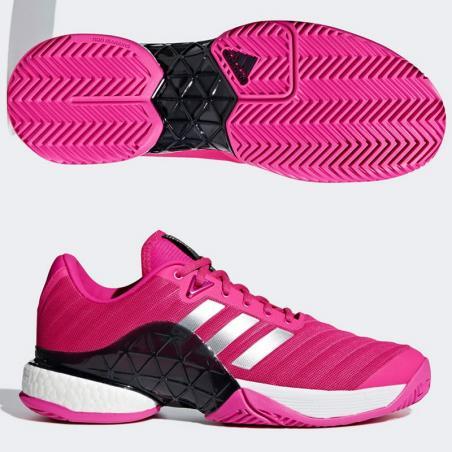 Adidas Barricade Boost Pink 2018