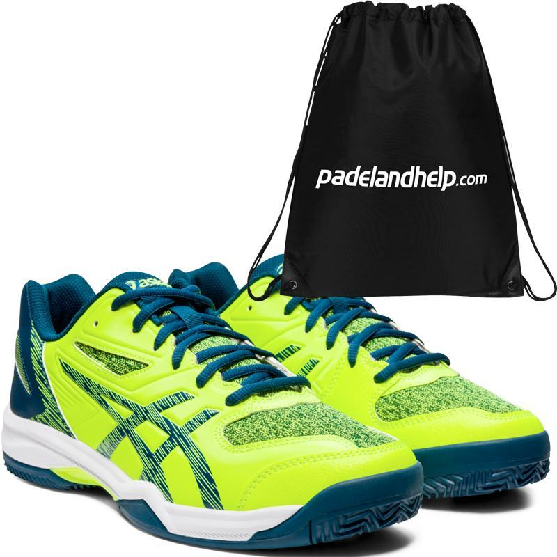Río arriba Gratificante Mula  Asics Gel Padel Exclusive 5 SG Safety Yellow 1041A005-752 - Padel And Help