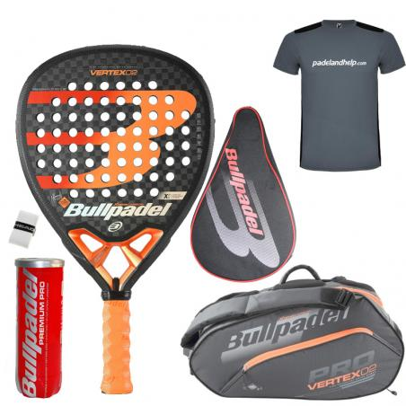 Pack Bullpadel Vertex 2 + Paletero 2020
