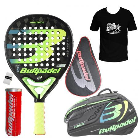 Pack Bullpadel Hack + Paletero 2020