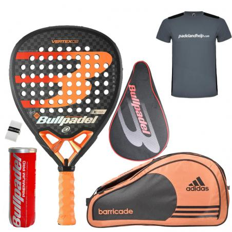Pack Bullpadel Vertex 2 + Paletero Vertex 2019