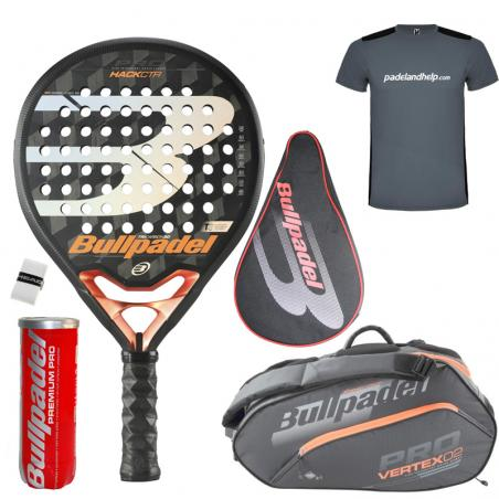 Pack Bullpadel Hack CTR + Paletero 2020