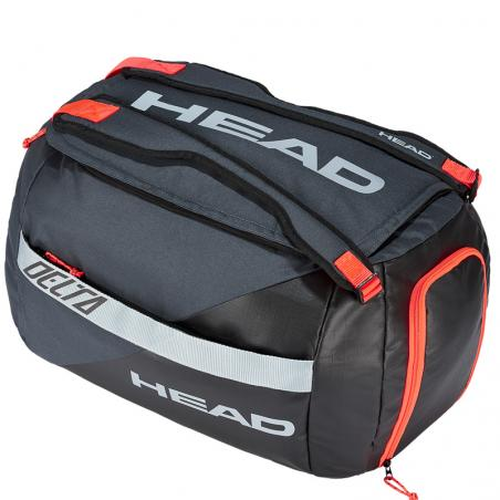 Head Delta Sport Black Orange 2020