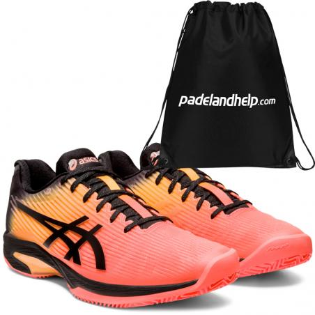 Asics Gel Solution Speed FF Clay LE Flash Coral 1041A153-700