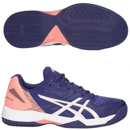 63e3fccae Asics Gel Padel Exclusive 5 SG Indigo Blue 1042A004-401 - Padel And Help