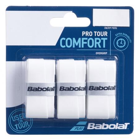 Babolat Pro Tacky X3 White