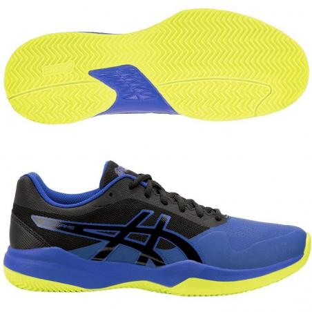 Asics Gel Game 7 Clay Black Blue 1041A046-009