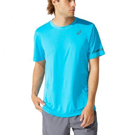 Asics T-shirt M SS TEE Digital Aqua