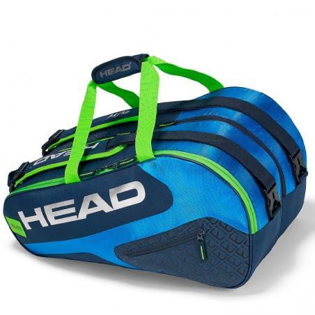 Head Elite Padel Supercombi Blue Green 2019