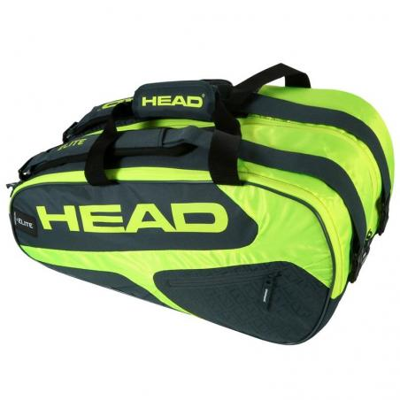 Head Elite Padel Supercombi Grey Neon Yellow 2019