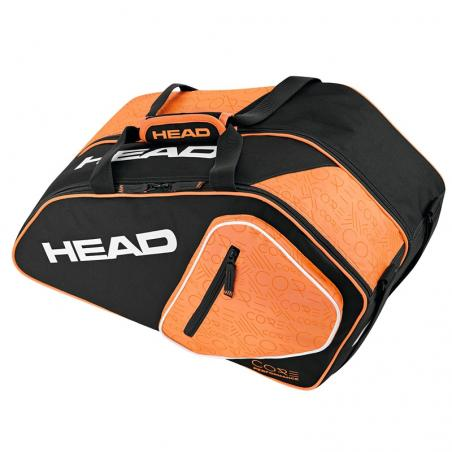 Head Core Padel Combi Black Orange 2017