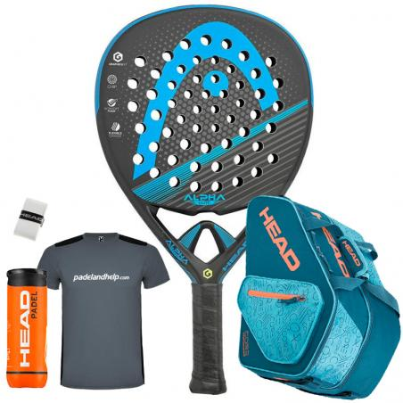 Pack Head Graphene XT Alpha Elite LTD + Paletero 2019