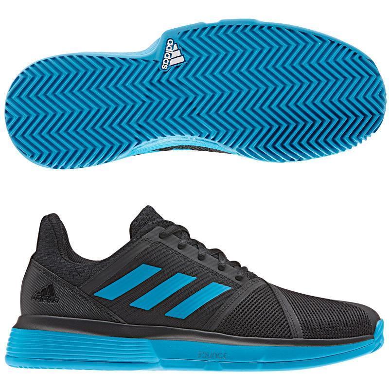Scarpe da Padel Adidas COURTJAM BOUNCE WHITE BLACK