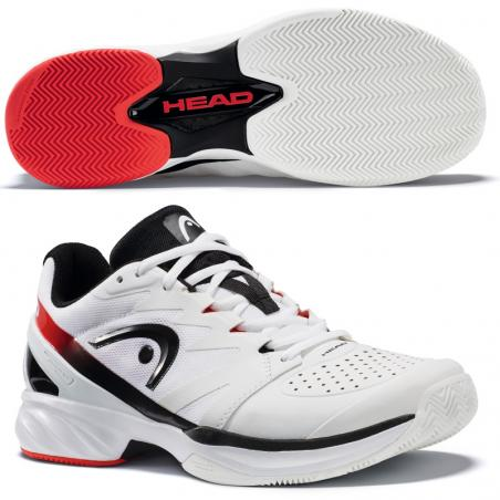 Head Sprint Pro 2.0 Clay Men White Black 2018