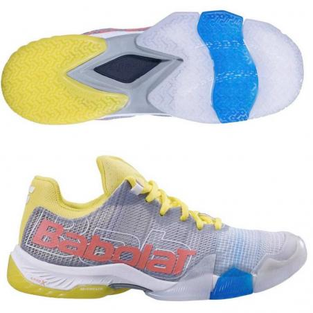 Babolat Jet Premura Woman Grey Yellow 2019