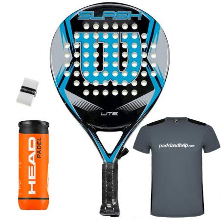 Wilson Slash Lite Padel Black Blue 2019