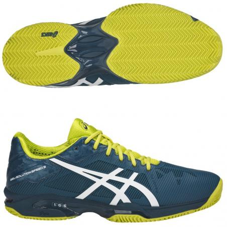 Asics Gel Solution Speed Clay Ink Blue E601N-4501