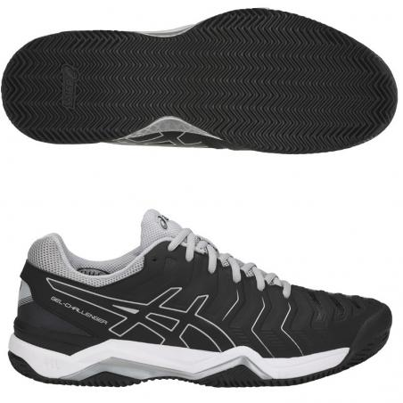 Asics Gel Challenger 11 Clay Black E704Y-9090