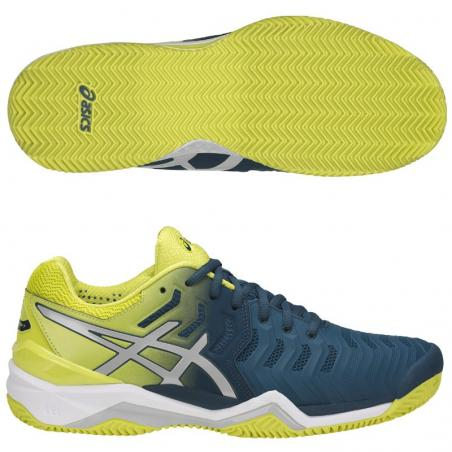 Asics Gel Resolution 7 Azules E702Y-4589