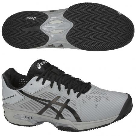Asics Gel Solution Speed 3 Grises E601N-9690