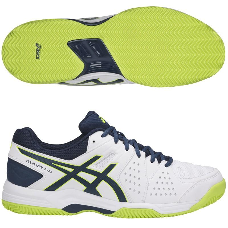 triple Rizado Diligencia  Asics Gel Padel PRO 3 SG White Safety Hell E511Y-0149 - Padel And Help
