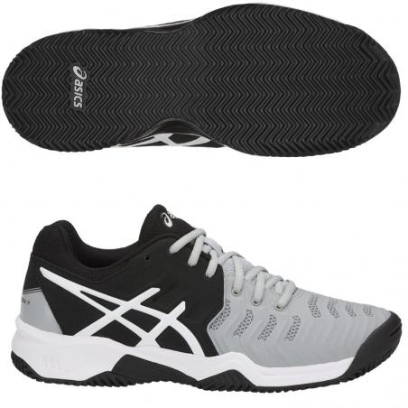 Asics Gel Resolution 7 Mid Grey C800Y-9690