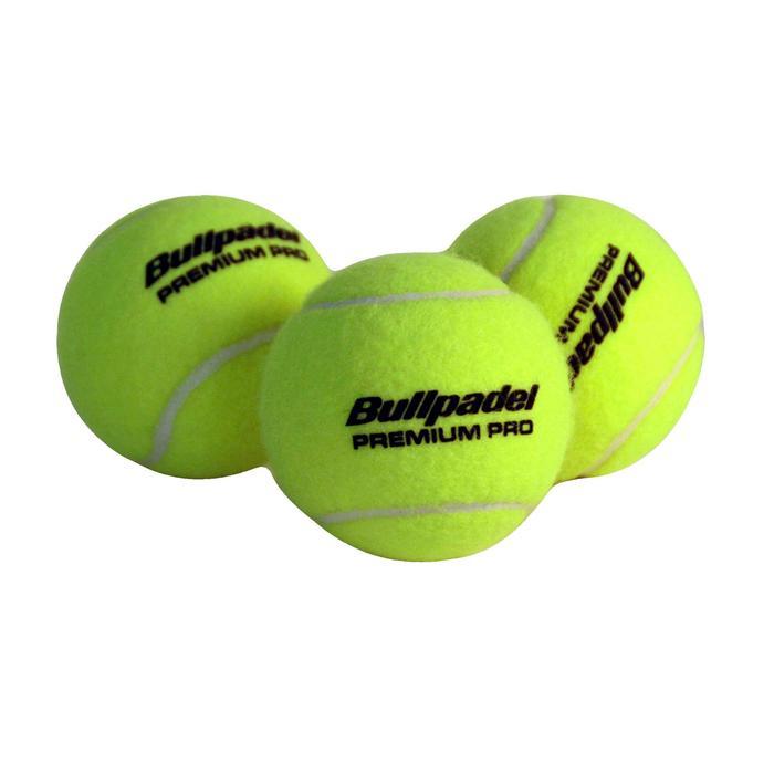 Pelotas de pádel Bullpadel Premium Pro