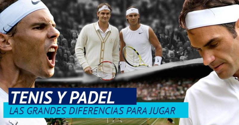 Padel y tenis diferencias