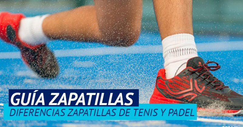 Diferencias zapatillas padel y tenis