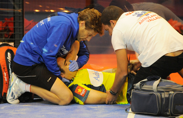 Pablo Lima lesionado