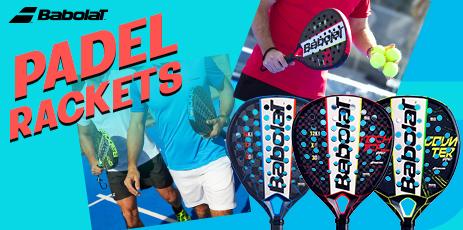 Babolat Padel tennis bats - Babolat padel tennis